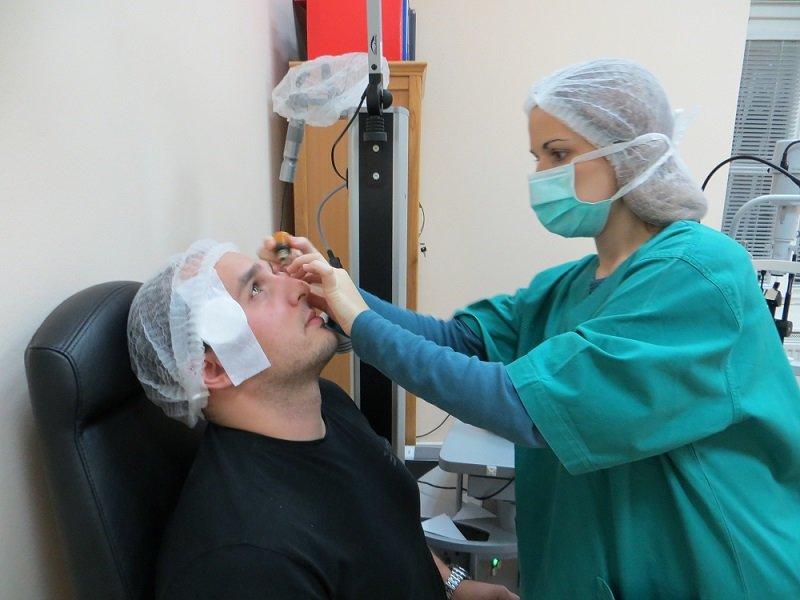 hogyan történik a szemműtét)