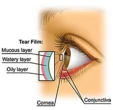 Suzni film na površini oka