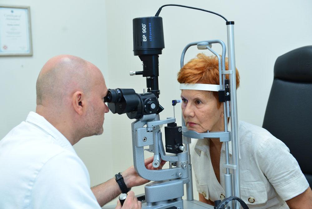 Pregled glaukomatologa