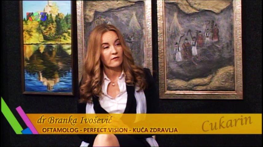 """Dr Branka Ivošević gostuje u emisiji """"Cukarin"""""""