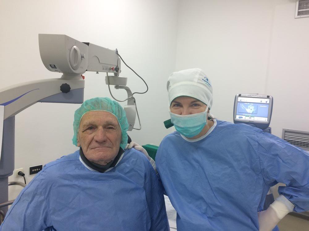 Uspešno završena operacija katarakte - Marić Anto