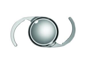 Das C-Loop-Design der neuen Intraokularlinse CT LUCIA basiert auf glanzfreiem hydrophoben Biomaterial