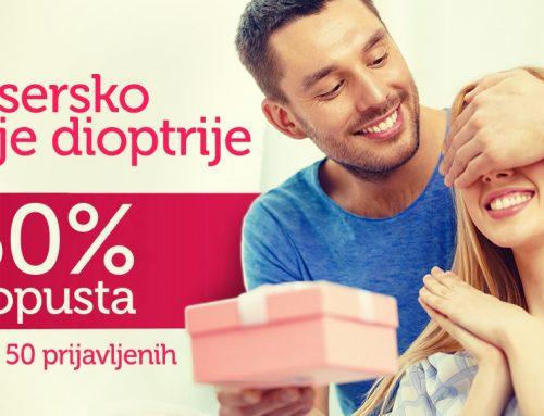 BÚCSÚZZON el a dioptriájától 50%-al alacsonyabb áron!