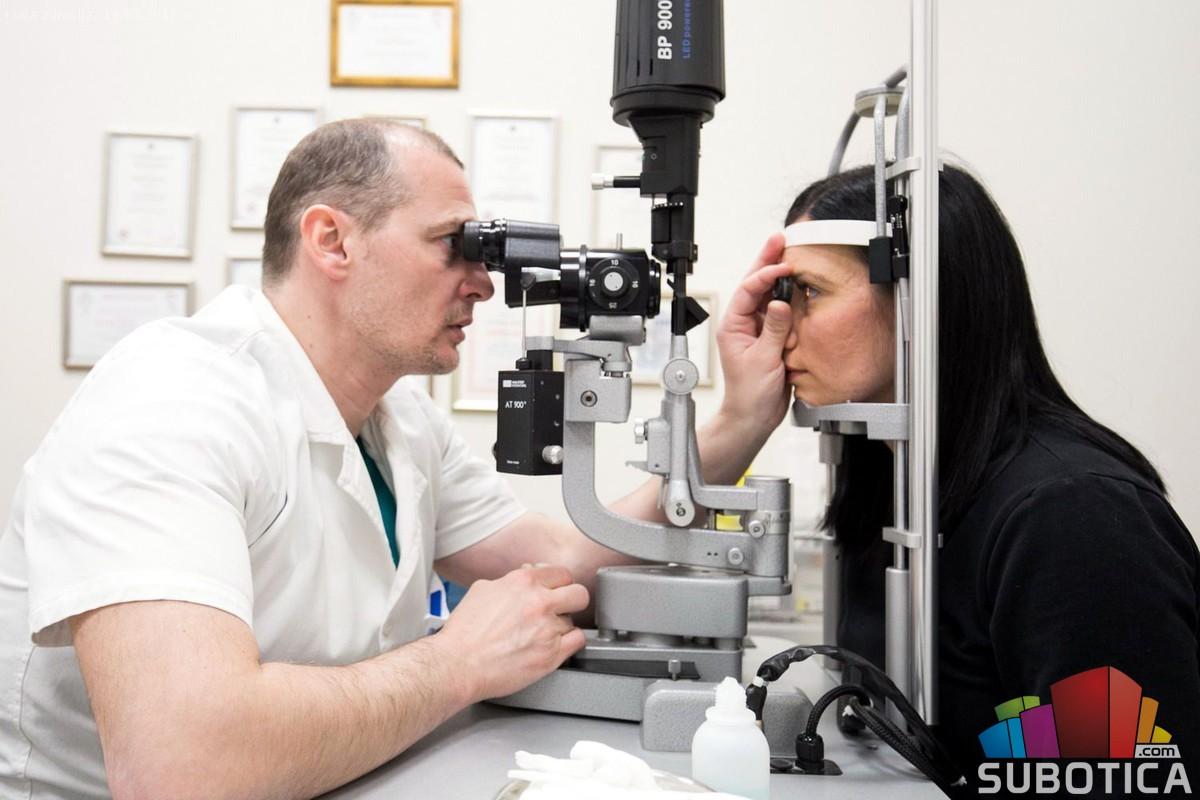 Besplatnim pregledima obeležena Svetska nedelja borbe protiv glaukoma