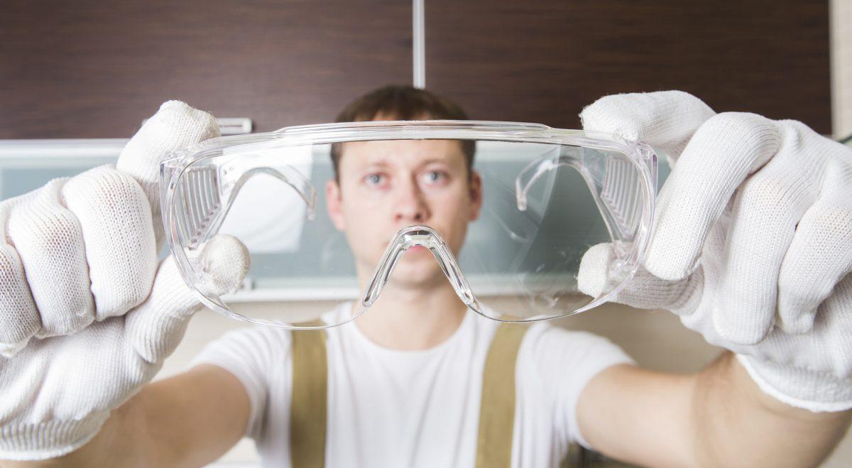 Zaštitne naočare na radu