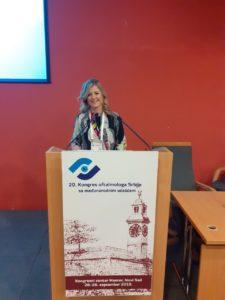 dr Jovanović na 20. kongresu oftalmologa Srbije