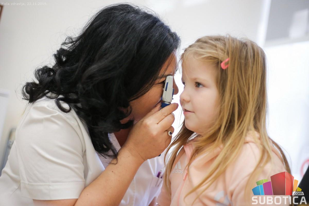 Dečiji oftalmološki pregled
